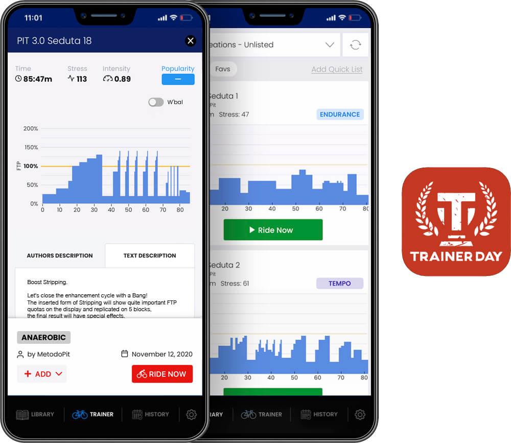 TrainerDay App iPhone